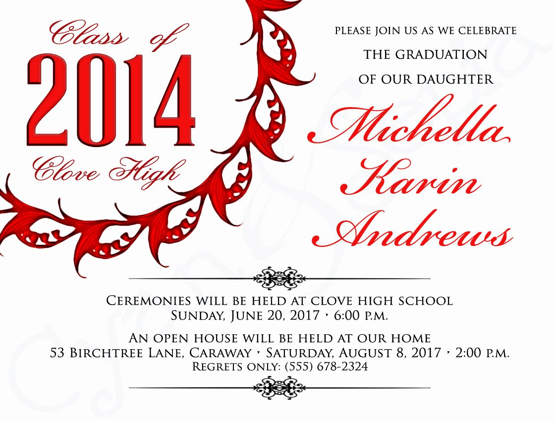 Free Printable Graduation Invitations Template