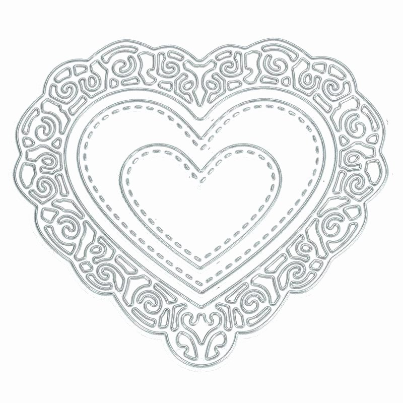 graphic relating to Extra Large Heart Template Printable identified as 8 5 Inch Middle Printable Template Further Center Latter
