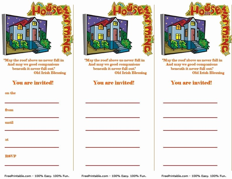Free Printable Housewarming Invitation – orderecigsjuicefo