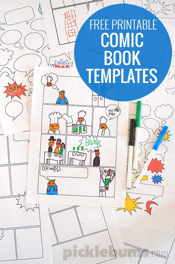 Free Printable Ic Book Templates Picklebums
