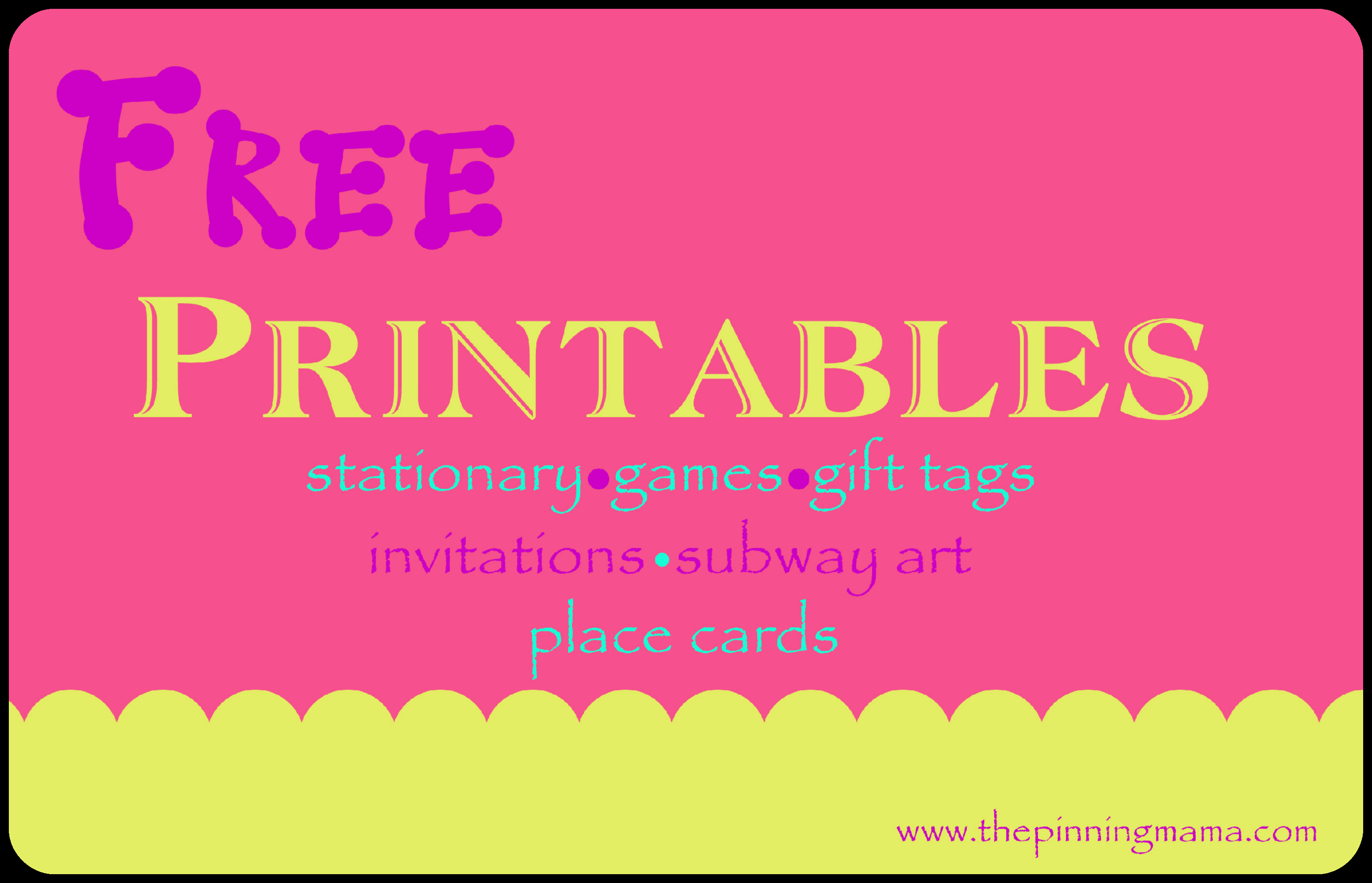 Free Printable Invitation Cards Templates