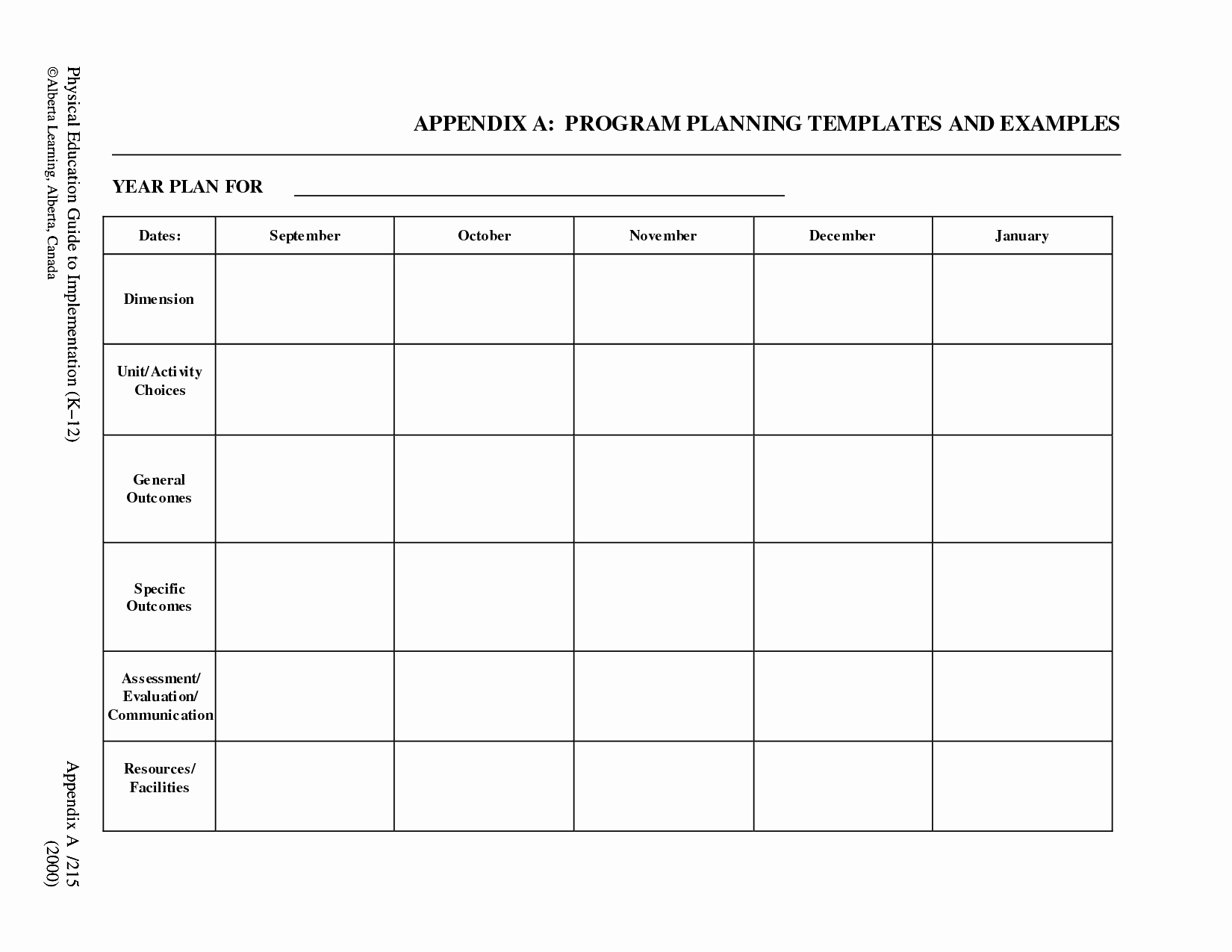 Free Printable Lesson Plan Template Templates Data