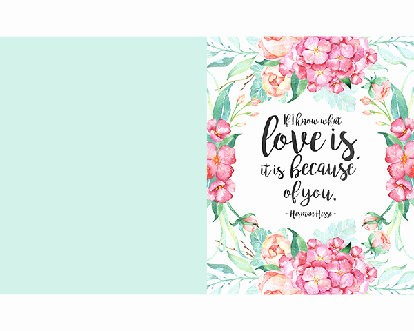 Free Printable Mother S Day Prints and Greeting Cards