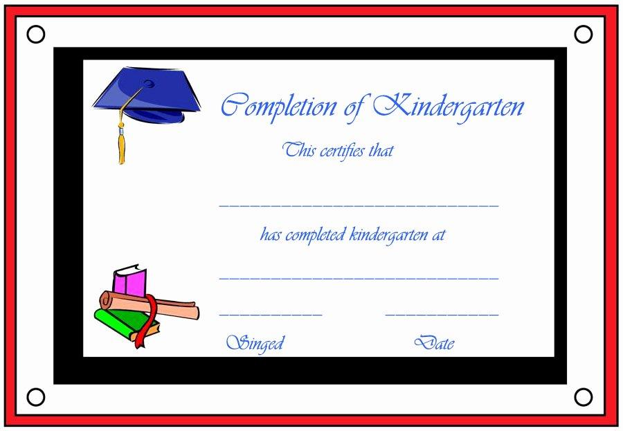 Free Printable Preschool Graduation Certificates