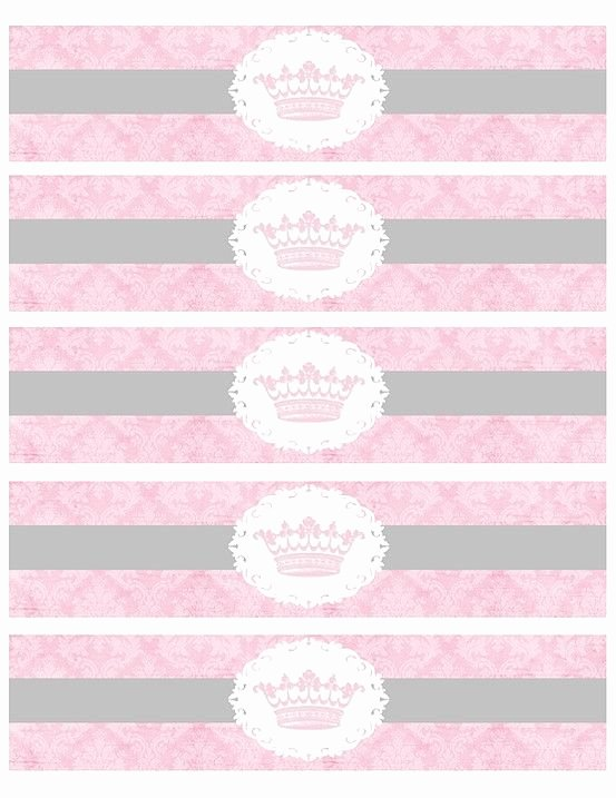 Free Printable Princess Water Bottle Labels