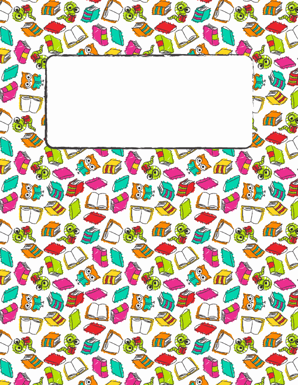 Free Printable Reading Binder Cover Template Download the
