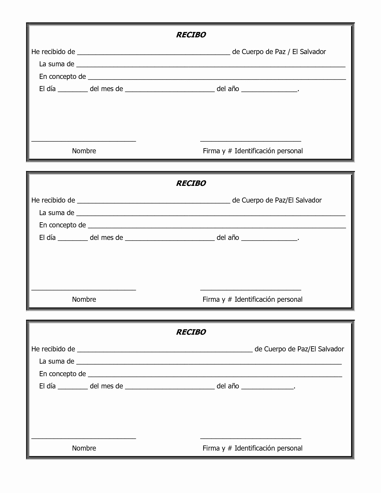 Free Printable Sample Donation form and Template V M