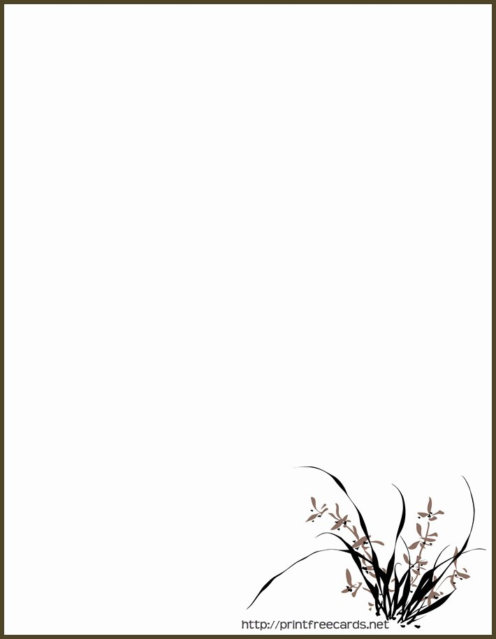 Free Printable Stationary Borders Printable 360 Degree