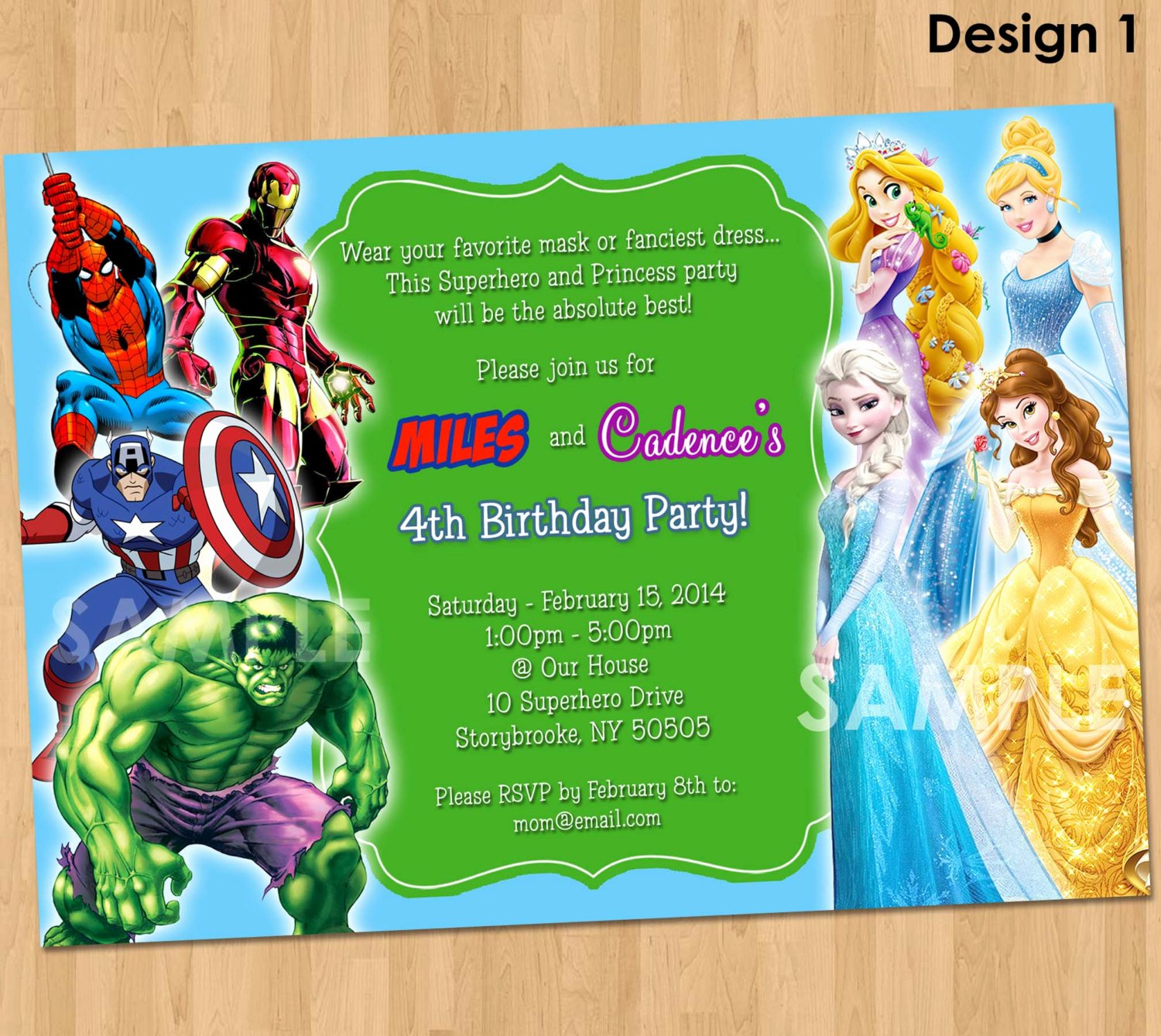 Free Printable Superhero Birthday Invitations – Free