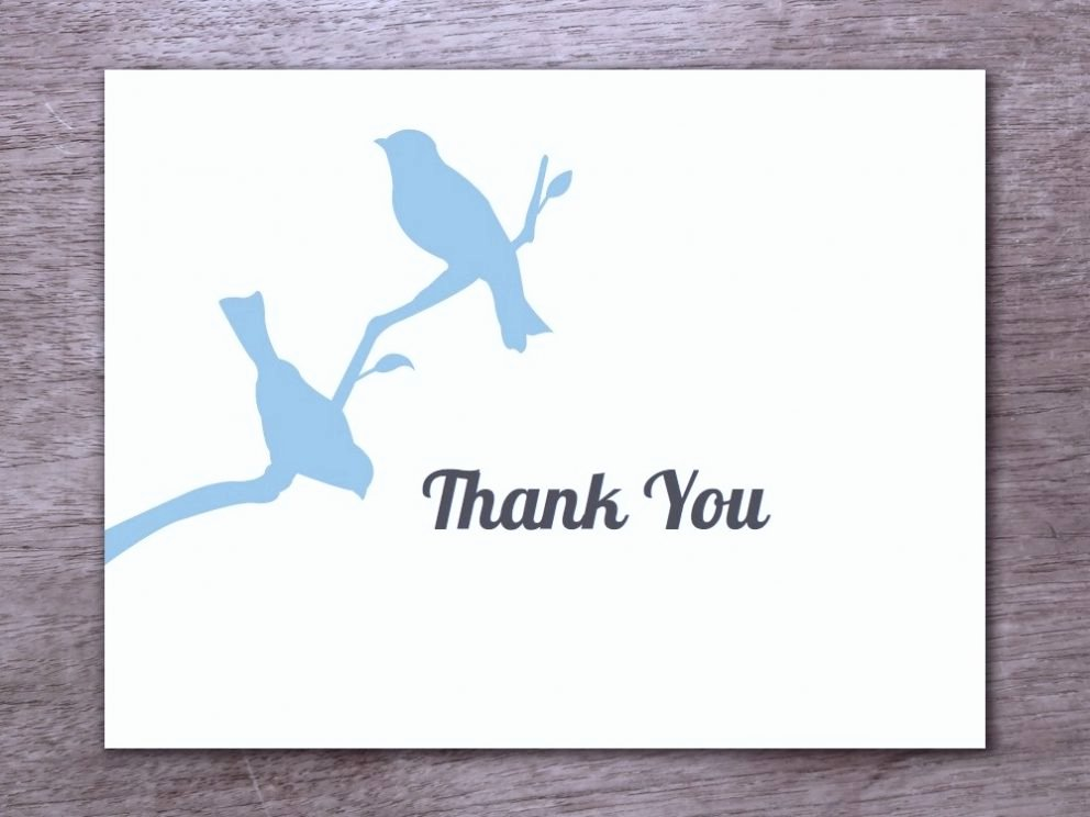 Free Printable Thank You Card Template for All