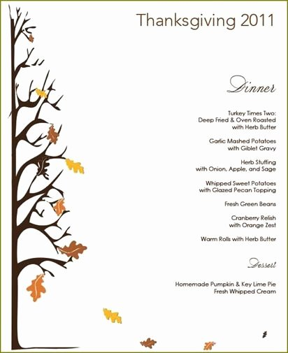 Free Printable Thanksgiving Dinner Flyers – Happy Easter
