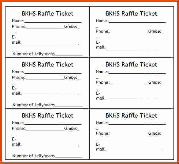 Free Printable Ticket Images
