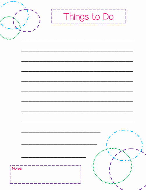 Free Printable to Do List Templates