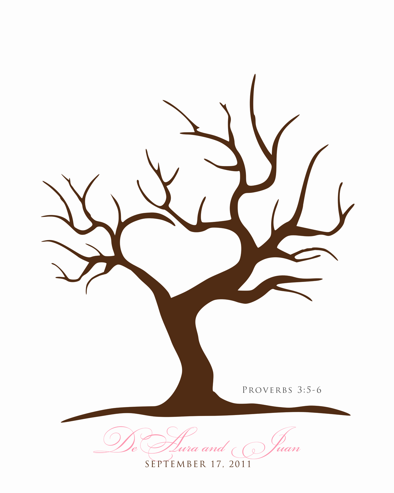 Free Printable Tree Template