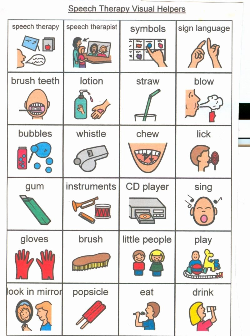 Free Printable Visual Schedule Cards for Autism