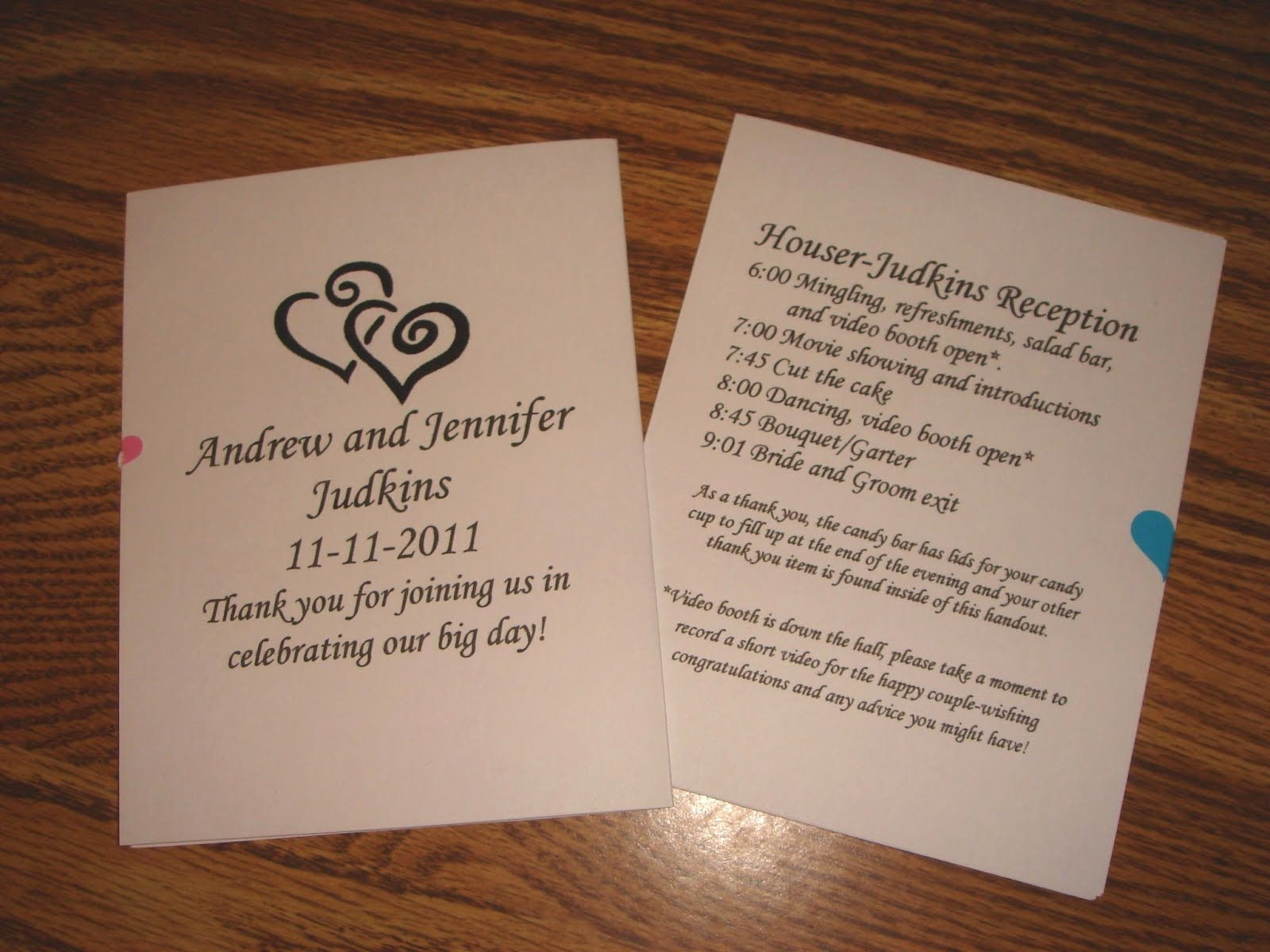 Free Printable Wedding Programs Templates