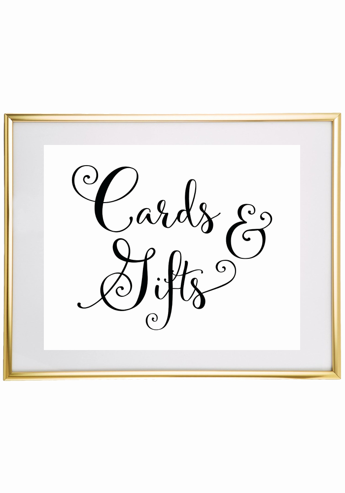 Free Printable Wedding Sign Cards and Gifts