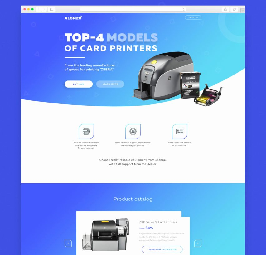 Free Product Landing Page Template Free Psd at Freepsd