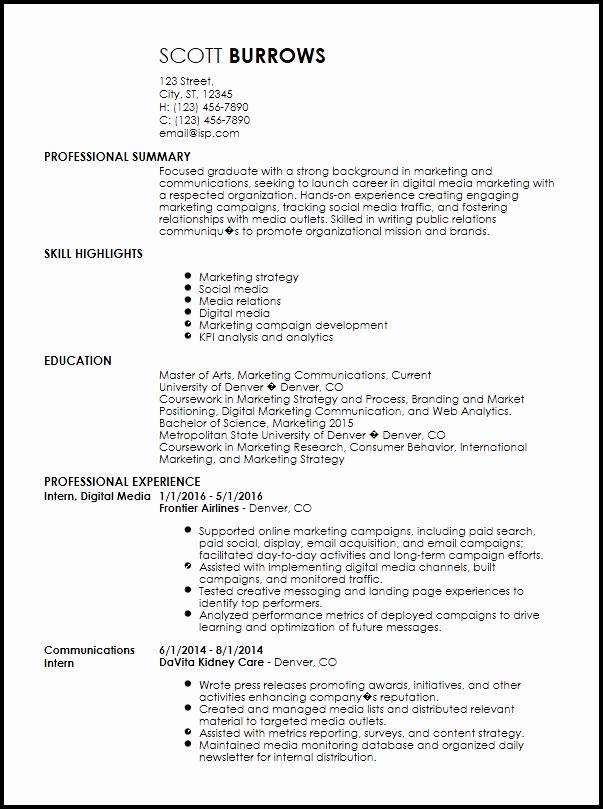 professional internship