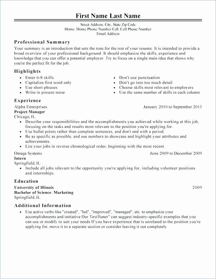 Free Professional Resume Builder Free Resume Maker Line