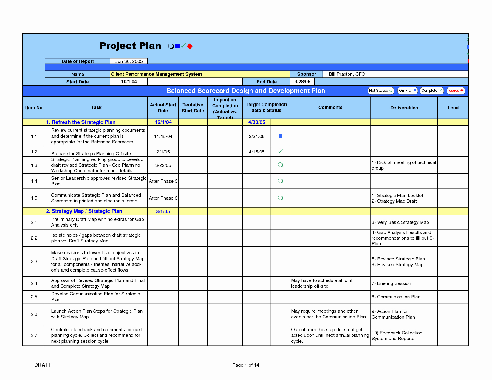 Free Project Management Calendar Template Home Bud