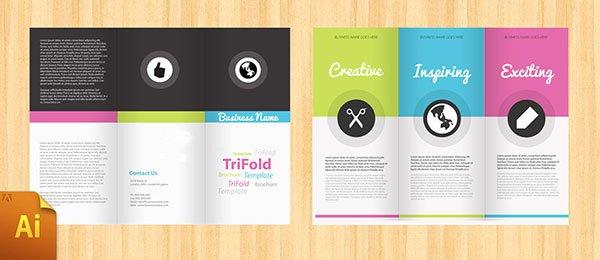 Free Psd Indesign & Ai Brochure Templates