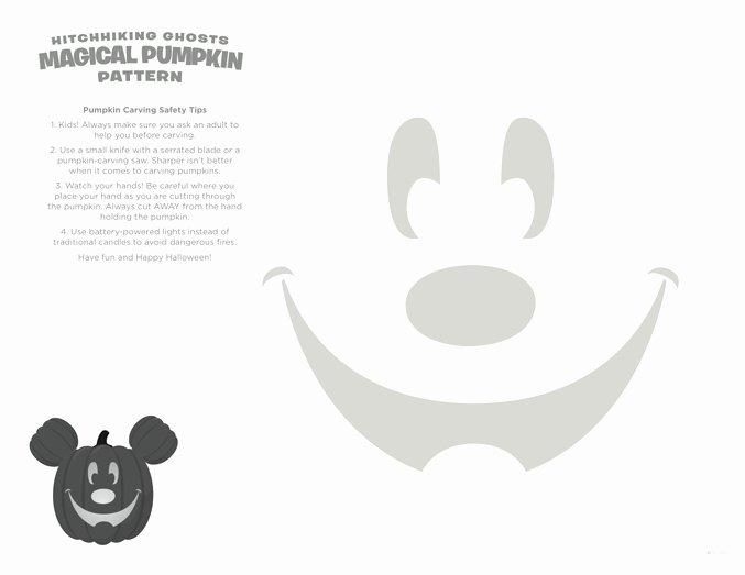 Free Pumpkin Face Stencils