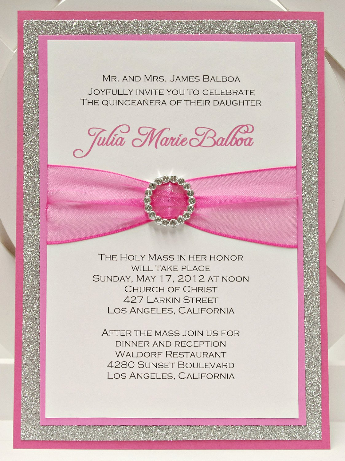 Free Quinceanera Invitations Templates