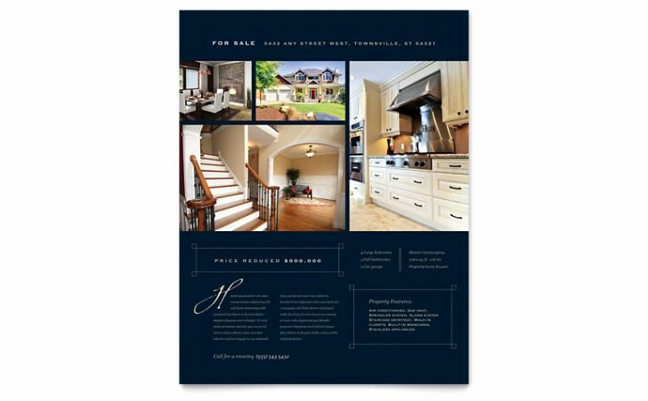 Free Real Estate Brochure Templates Csoforumfo