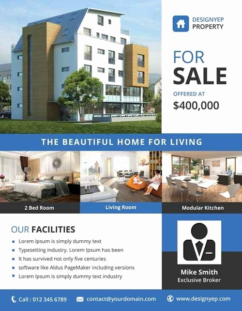 Free Real Estate Brochure Templates Invitation Template