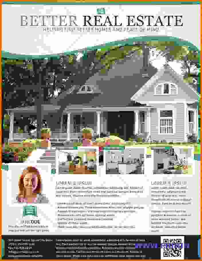 Free Real Estate Flyer Templates Reference Letters