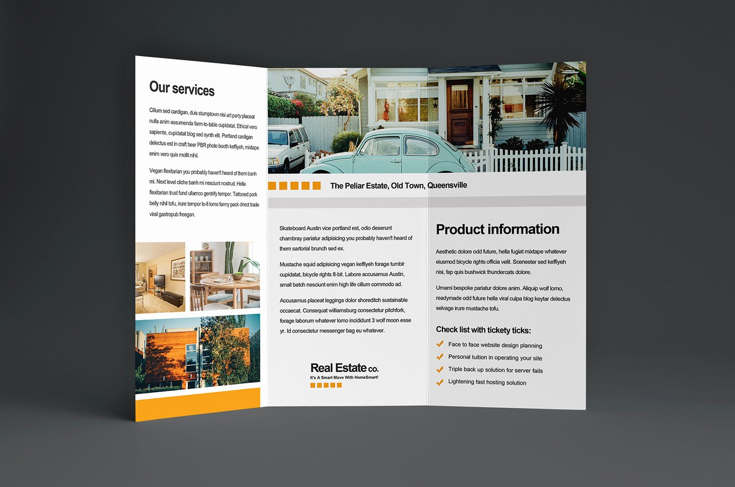 Free Real Estate Trifold Brochure Template In Psd Ai