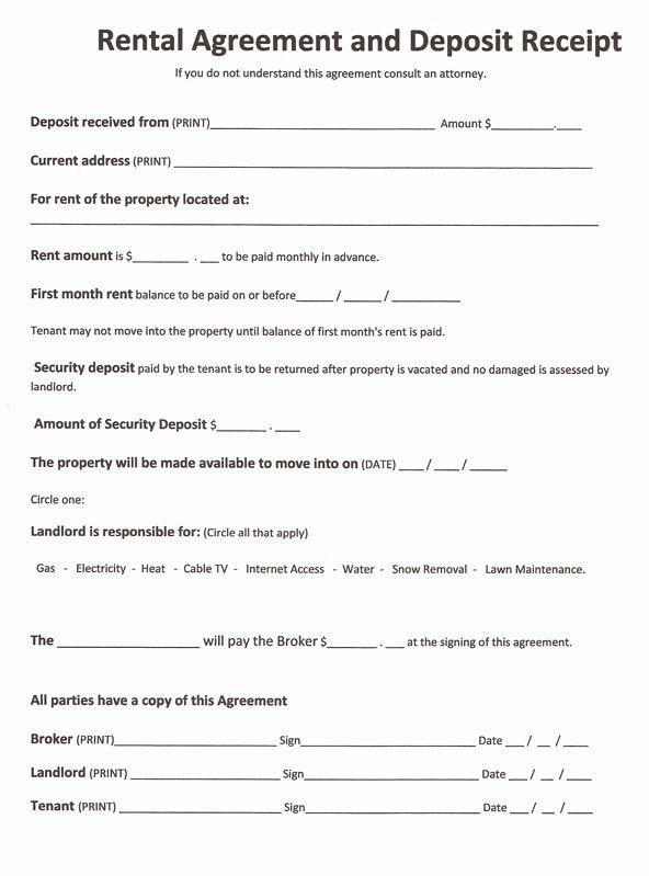 Free Rental forms to Print