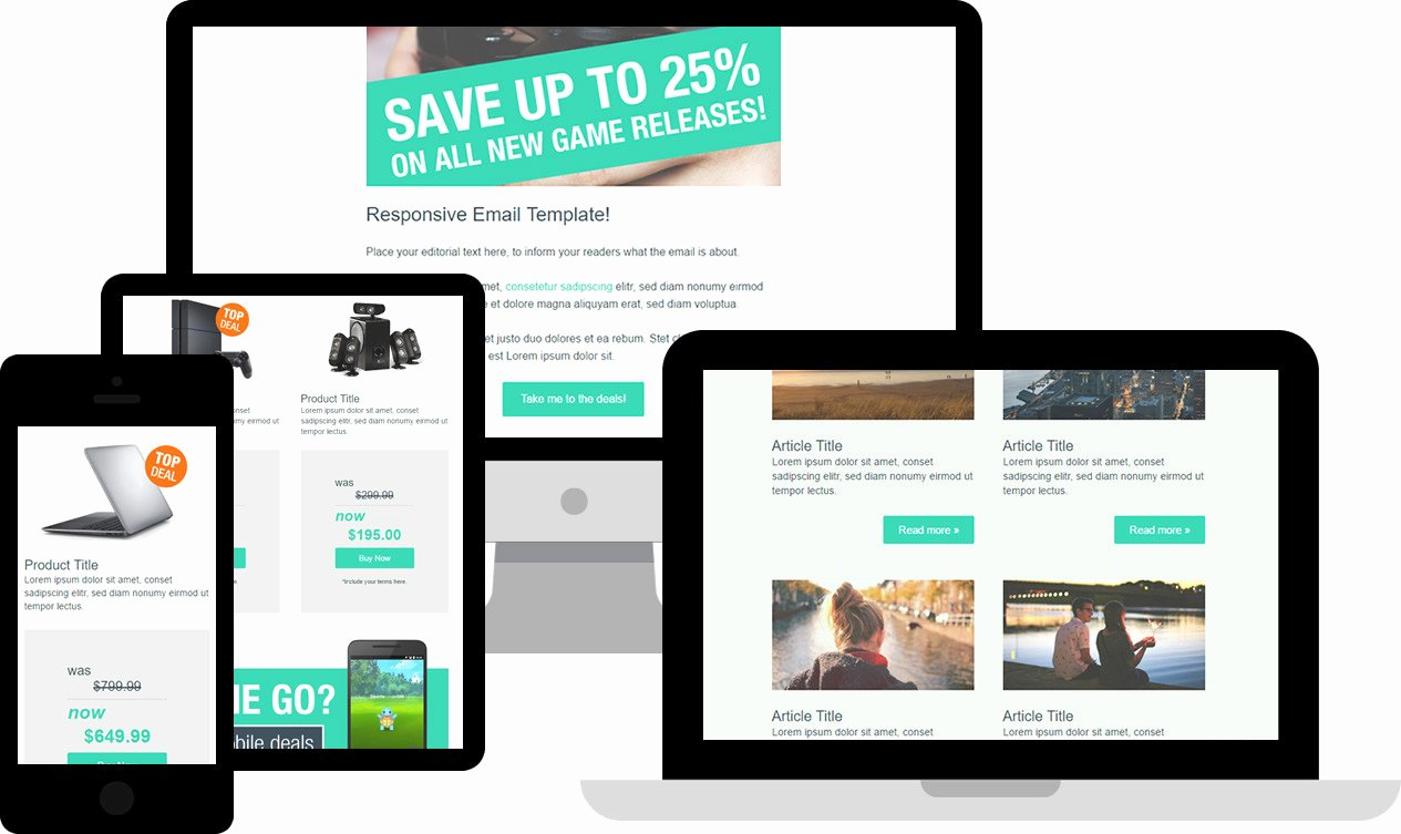 Free Responsive HTML Email Templates