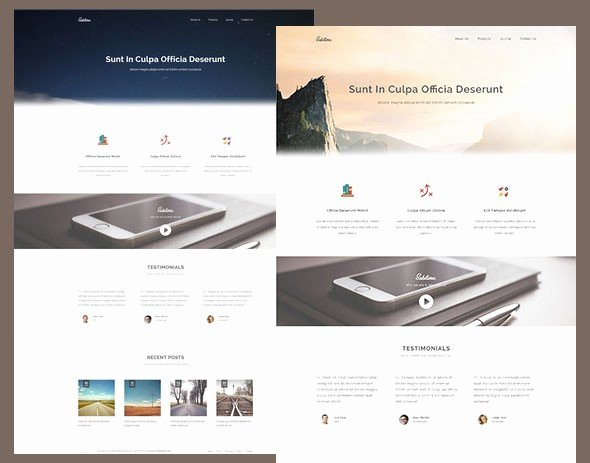 Free Responsive HTML5 Css3 Website Templates – Level Up