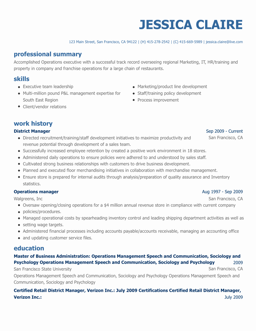 Free Resume Builder Line Create A Professional Resume