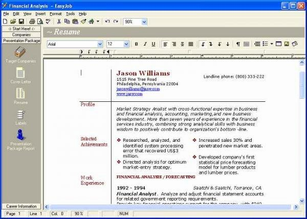 Free Resume Maker Download