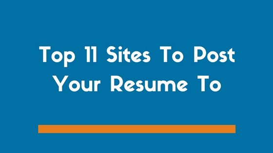 Free Resume Posting Sites Best Resume Collection
