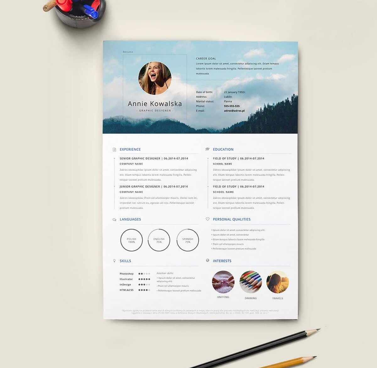 Free Resume Templates 18 Downloadable Resume Templates to Use