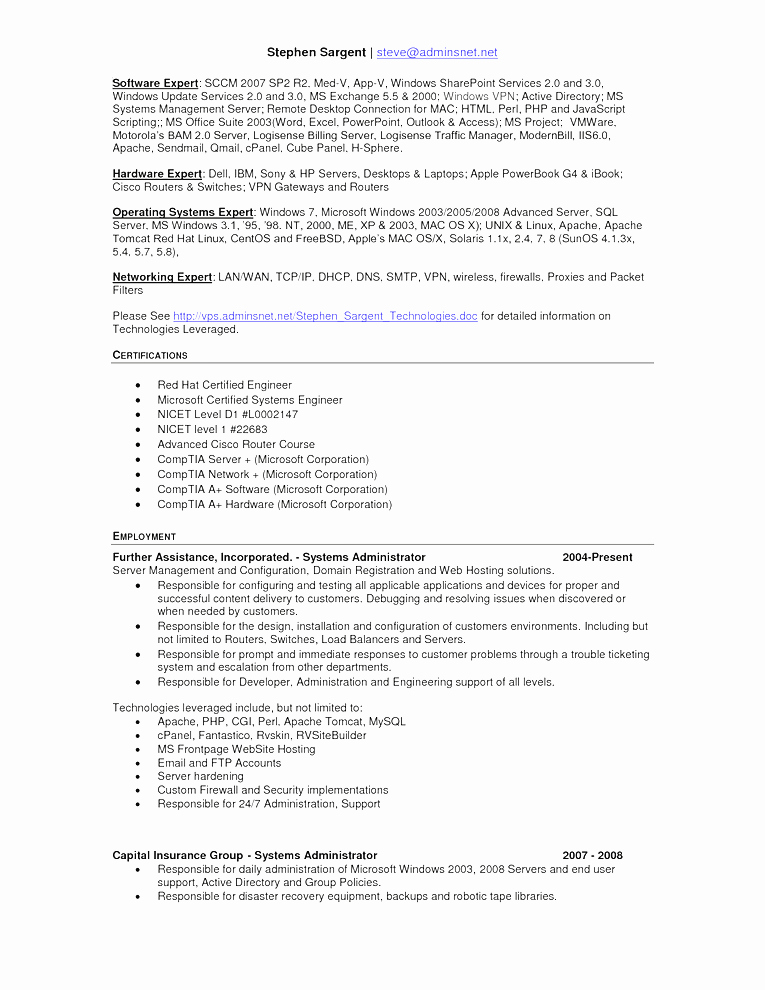 Free Resume Templates for Mac Textedit