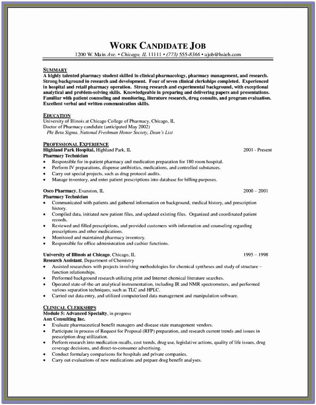 Free Resume Templates for Wordpad Resume Resume