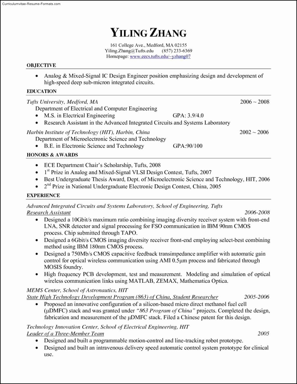 Free Resume Templates Pdf Free Samples Examples