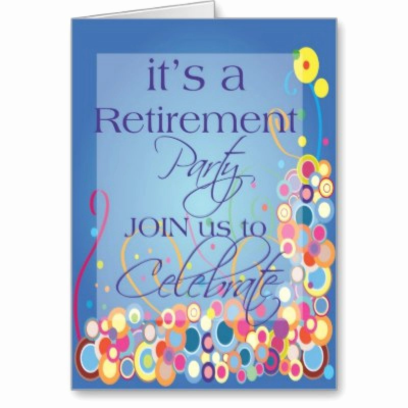 Free Retirement Invitation – orderecigsjuicefo