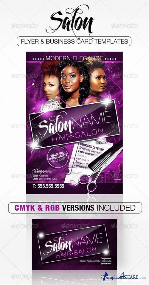 Free Salon Flyer Templates Yourweek 3195aeeca25e