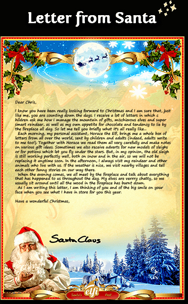 Free Santa Letters Download Your Personalized Letter