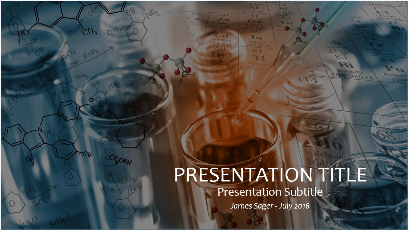 Free Science Lab Powerpoint Template