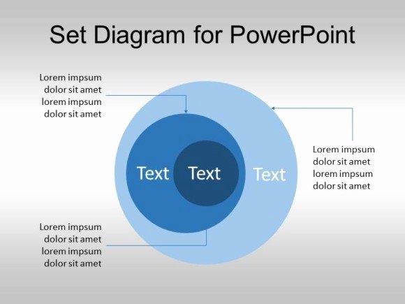 Free Set Diagram for Powerpoint Venn Diagram Template