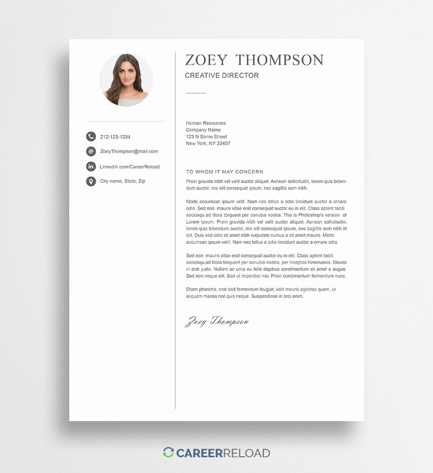 Free Shop Cover Letter Templates Free Download