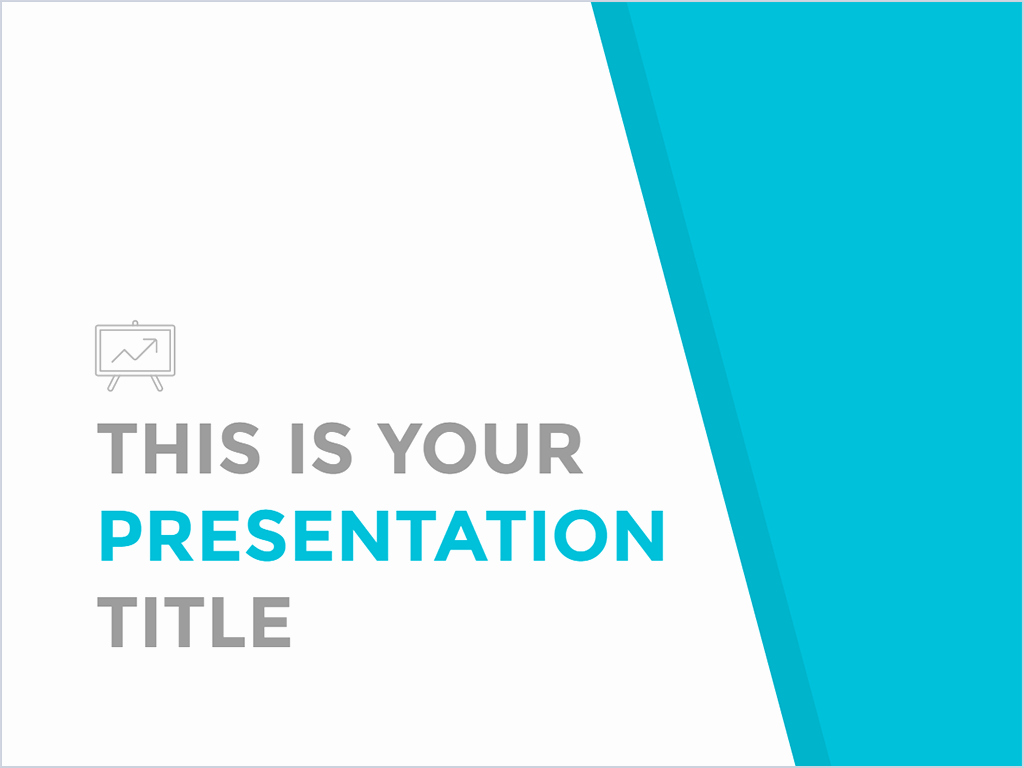 Free Simple and Professional Powerpoint Template or Google