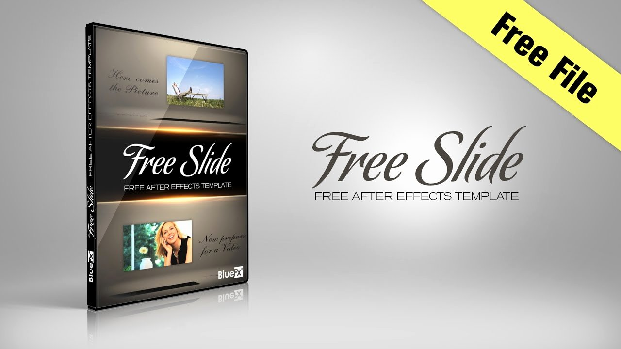 Free Slide after Effects Template